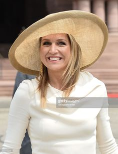 Queen Maxima of The Netherlands visits Queen's Park during state visit to Canada on May 29, 2015 in Toronto, Canada.  (Photo by George Pimentel/Getty Images)