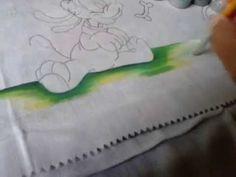 Dicas Artes da Ju Baby - pintando chão - YouTube