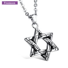 Jewelry Wholesale Black Star Five-Pointed Star Long Necklace Sweater Chain Gift