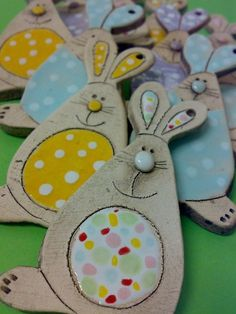 Zajda ušajda / Vendor Jakča and Ufola Preschool Crafts, Easter Crafts, Crafts For Kids, Arts And Crafts, Clay Projects, Projects To Try, Animal Art Projects, Kids Clay, Spring Crafts