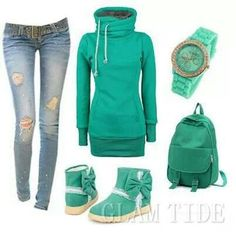 Love the style...&&& especially the color!!!