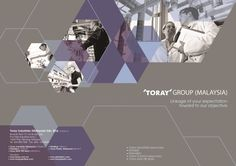 TORAY GROUP CORPORATE PROFILE by Wayne y.m.h., via Behance