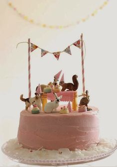 Great Picture of Birthday Cake Decoration Ideas . Birthday Cake Decoration Ideas 18 Easy Cake Decorating Ideas To Amp Up A Store Bought Cake Pretty Cakes, Cute Cakes, Beautiful Cakes, Bolo Cake, Easy Cake Decorating, Decorating Ideas, Festa Party, Elmo Party, Mickey Party