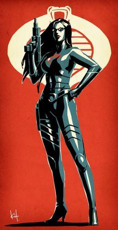 COBRA Intelligence Officer by ~kit-kit-kit - the Baroness - GI Joe Comic Book Characters, Comic Book Heroes, Comic Character, Comic Books Art, Comic Art, Thundercats, Dc Comics, Comics Girls, Batgirl