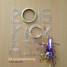 Ready to kick ass in #2015? I am! #newyear #career. #CareerCandy launches 1-01-15 bitly/careercandy #rockincareer