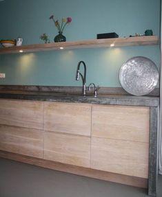 Koak Design makes real oak doors for IKEA kitchen cabinets. Koak + IKEA = your design! Kitchen Ikea, Kitchen Interior, Kitchen Decor, Kitchen Cabinets, Ikea Inspiration, Design Inspiration, Design Ideas, Casas En Atlanta, Small Cottage Kitchen