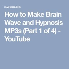 Anemona soul journey 9 hz brainwave music youtube how to make brain wave and hypnosis mp3s part 1 of 4 youtube ccuart Image collections