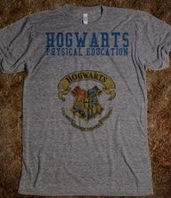 HOGWARTS PHYSICAL EDUCATION. I want this for P.E. :)