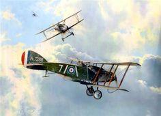 Bristol F2B vs Albatros