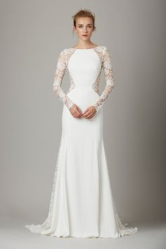 "Wedding gown by Lela Rose (Style ""The Lounge"")"