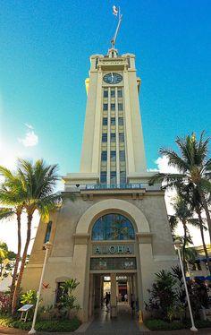 A monument to #Aloha, well.. its Aloha Tower, #Honolulu.