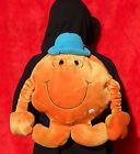 MR TICKLE BACKPACK Rucksack MR MEN BAG Orange Plush Fur Vintage Rare unisex vgc on eBay for £20