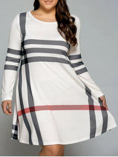 GET $50 NOW | Join RoseGal: Get YOUR $50 NOW!http://www.rosegal.com/plus-size-dresses/plus-size-vertical-striped-t-shirt-735850.html?seid=k49uhjgm1e44ns0ssb6pcce076rg735850
