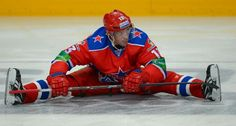 Pavel Datsyuk - playing for KHL Club CSKA, Moscow, during 2012 lock-out