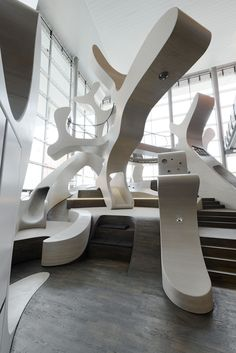 mobiversum by J. mayer H. architects at autostadt in wolfsburg, germany