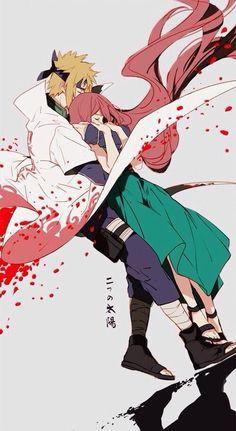 <3 Minato & Kushina - nineeeeeo, twitter