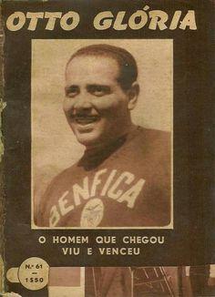Otto Glória. O treinador brasileiro realizou 8 épocas ao serviço do Benfica. Entre 1954-59 e 1967-70). Em 244 jogos, venceu 159, empatou 45 e perdeu 40. Venceu 4 Campeonatos Nacionais e 5 Taças de Portugal.