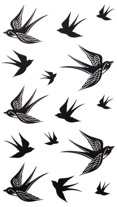 Amazon.com: 2012 new design New release temporary tattoo waterproof Swallow tattoo stickers: Beauty