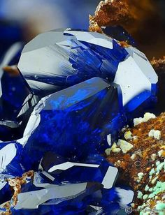 Azurite from Romania