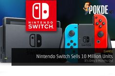 Nintendo Switch made its debut in March 2017. The new console is selling superbly well, matching the Sony PlayStation 4 in its initial 9 months.   Share this:   Facebook Twitter Google Tumblr LinkedIn Reddit Pinterest Pocket WhatsApp Telegram Skype Email Print