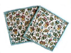 Quilted Gardener Pot Holders / Hot Pads / by DocksideDesigns