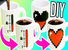 How to make thermochormic color changing mugs.