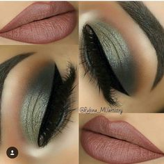 Ideas makeup dark hair green eyes eyeliner for 2019 Gorgeous Makeup, Love Makeup, Makeup Inspo, Makeup Inspiration, Makeup Looks, Makeup Ideas, Green Makeup, Skin Makeup, Eyeshadow Makeup