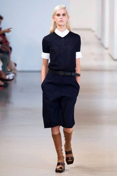 Jil Sander Spring 2015. See the best runway looks from Milan Fashion Week here.