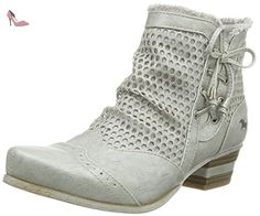 Mustang 1187-514, Bottes Classiques Femme, Argent (21 Silber), 41 EU - Chaussures mustang (*Partner-Link)