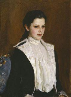John Singer Sargent / Alice Vanderbilt Shepard / 1888 / oil on canvas / Amon Carter Museum of American Art