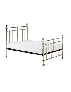 Castello Pewter Bed Frame | M&S
