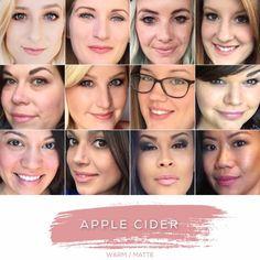 Aussie Rose Facebook @ Rebecca's Lasting Lip Color