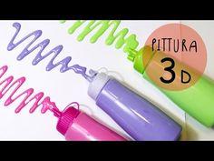 Tutorial come fare PITTURE 3D (PUFFY PAINT) con SCHIUMA da BARBA - Bambini Creativi by ART Tv - YouTube