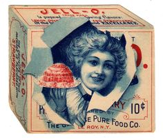 Vintage Jello Ads Before 1900 | Jell-o Strawberry, 1902