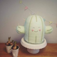 Sweet cactus cake