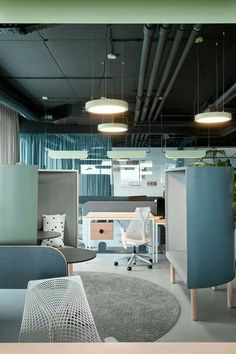 Contemporary office interiors