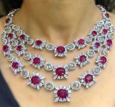Each Diamond has its own particular characteristics. If you would like more in less, you have to take a look at our Miracle Plate Diamond Necklaces. Ruby Jewelry, Bridal Jewelry, Diamond Jewelry, Jewelry Gifts, Gold Jewelry, Fine Jewelry, Statement Jewelry, Diamond Cross Necklaces, Diamond Pendant Necklace