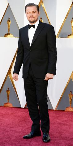 2016 Oscars Red Carpet Photos - Leonardo DiCaprio  - from InStyle.com