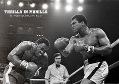 MUHAMMAD ALI POSTER Thrilla in Manilla RARE HOT 24x36