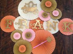 Princess Themed Paper Rosettes, Princess Backdrop, Princess birthday party, Princess Room Decor