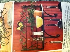 Rooster Pot Rack - Seventh Avenue $45