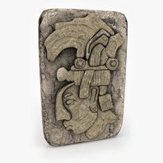 aztec artifact v2 3d obj