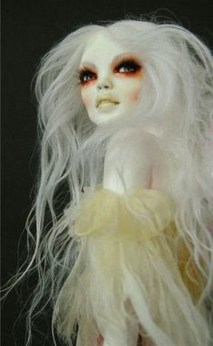 Snow Fae - Fae series. I like the concept, but shouldn't the eyes be accented in light blue?