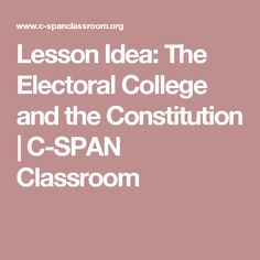 analysis of the idea behind the electoral college in america Analysis of iceland's electoral college  of america, the electoral college has been the  at the time that the idea of the electoral college itself was.