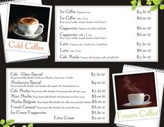 FORMOSA MENU (page 2): If you are interested in getting a custom design, printing or just want to know more about TAS Belize, contact us.. (501) 822-0011 / (501) 637-4921 / info@tasbelize.com / www.tasbelize.com