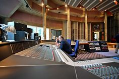 Real World Studios, Box, near Bath, UK, with new SSL K Series mixing console