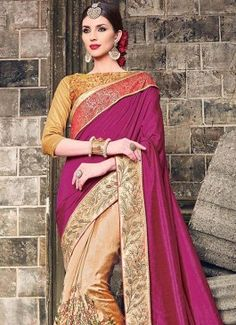 Titillating Embroidered Work Art Silk Classic Designer Saree #salwar kameez  #indian #trendy #red #bridal#bollewood #party wear #traditional#online #mangosurat#style #boutiques #shopping #fashion #modal #social #branding #sales #marketing #business #discount #deal #success #ethnic #creation #embroidery #classic #cloth #clothing #bridal wear#jardoshi #work #chiffon #acteress #navel #desi #new #woman fashion #designersuit