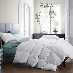 Legends® Damask Baffled White Goose Down Comforter