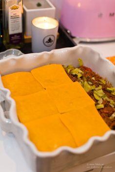 LCHF - Low Carb, Cheeseburgergratäng