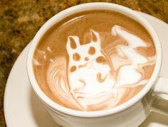 Latte Pikachu Loves You